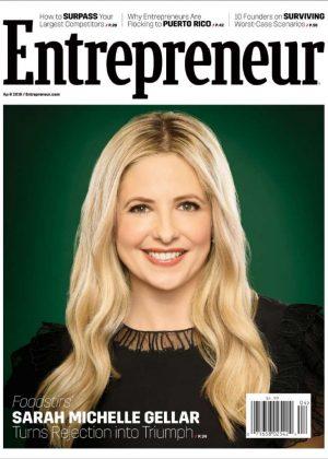 Sarah Michelle Gellar - Entrepreneur US Magazine (April 2018)