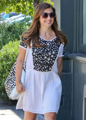 Sarah Michelle Gellar - Out in Brentwood