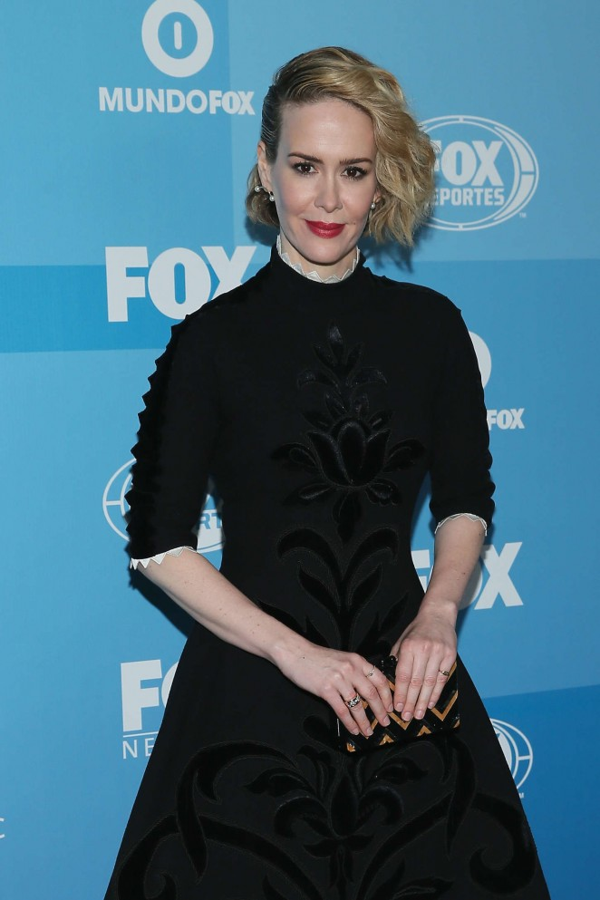 Sarah Paulson - 2015 FOX Programming Presentation in NYC