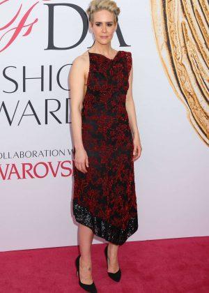 Sarah Paulson - 2016 CFDA Fashion Awards in New York