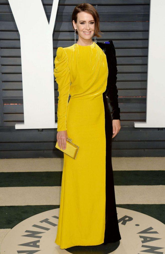 Sarah Paulson - 2017 Vanity Fair Oscar Party in Hollywood