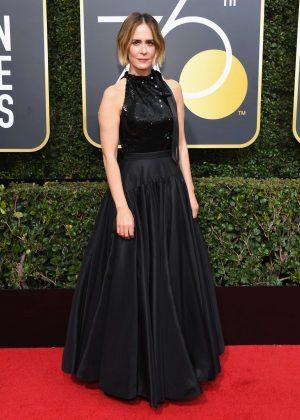 Sarah Paulson - 2018 Golden Globe Awards in Beverly Hills
