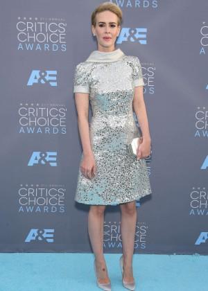 Sarah Paulson - 2016 Critics' Choice Awards in Santa Monica