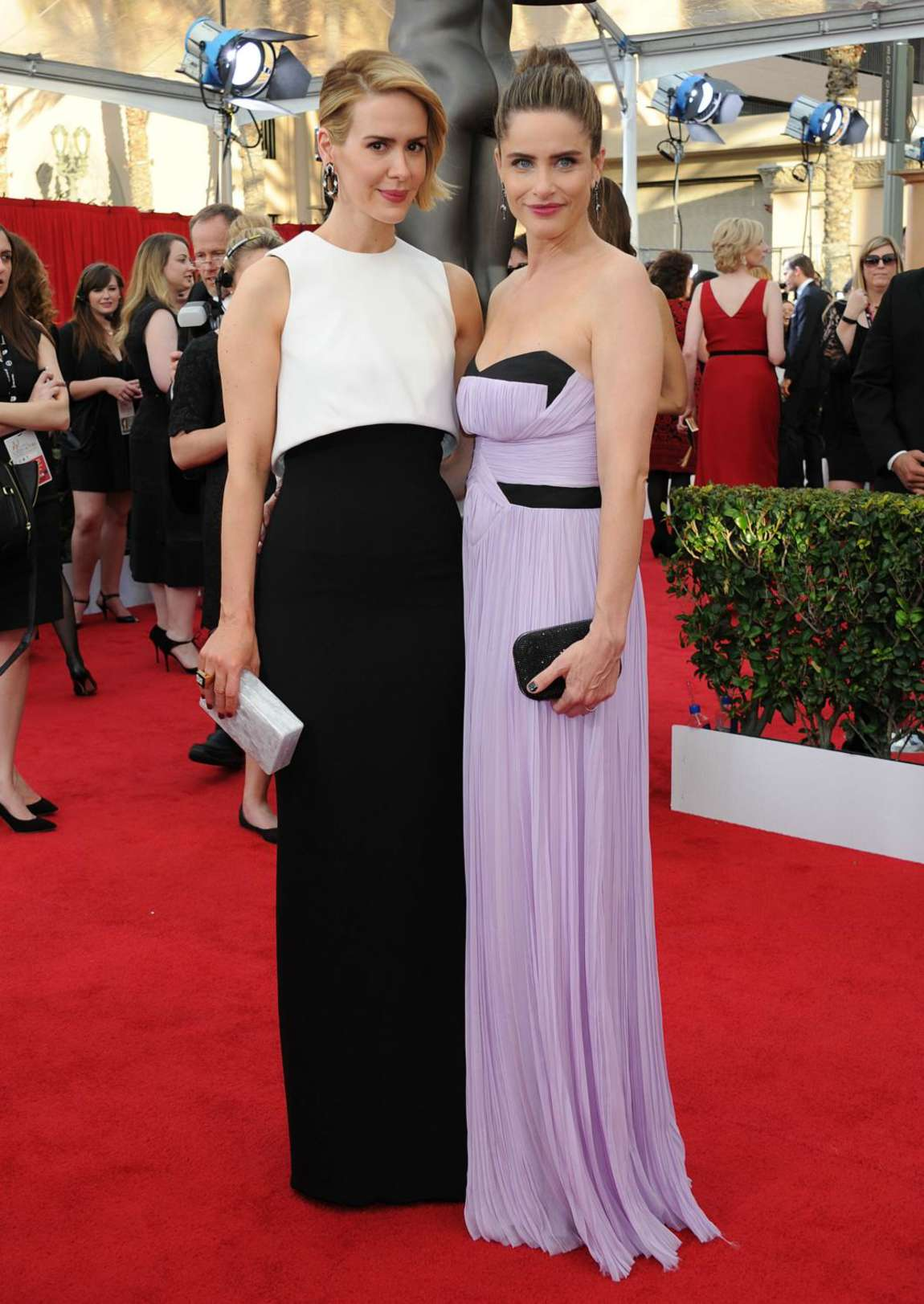 Sarah Paulson 2015 : Sarah Paulson: 2015 SAG Awards -12