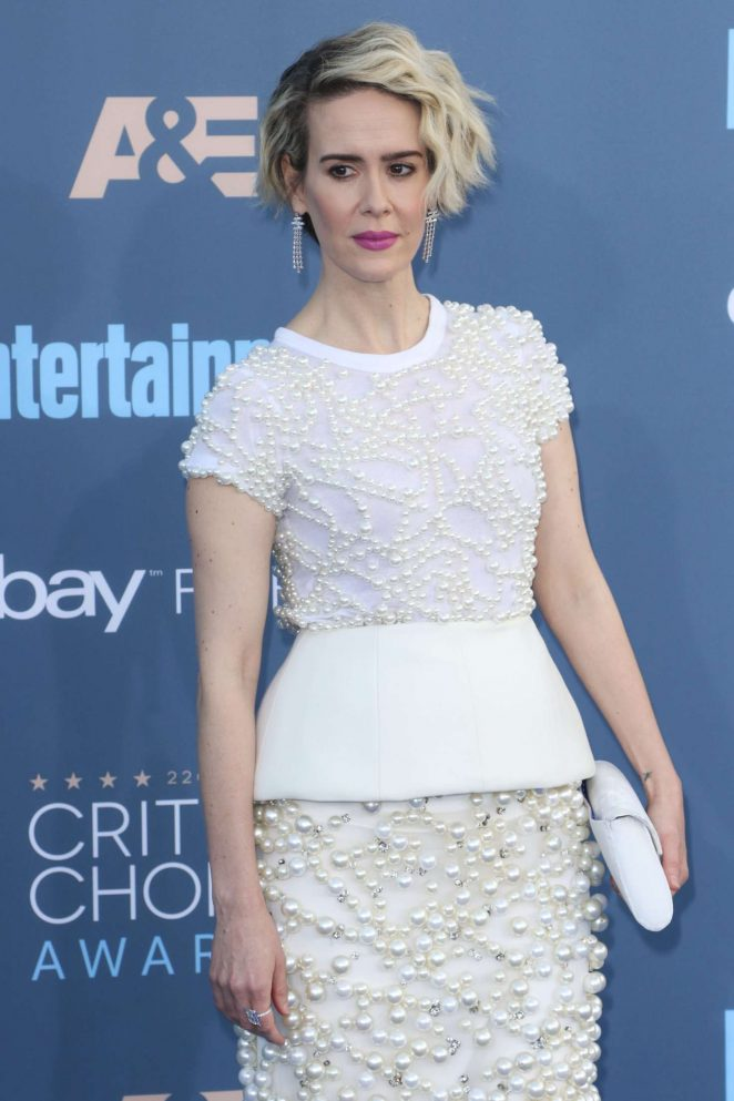 Sarah Paulson - 22nd Annual Critics' Choice Awards in Los Angeles