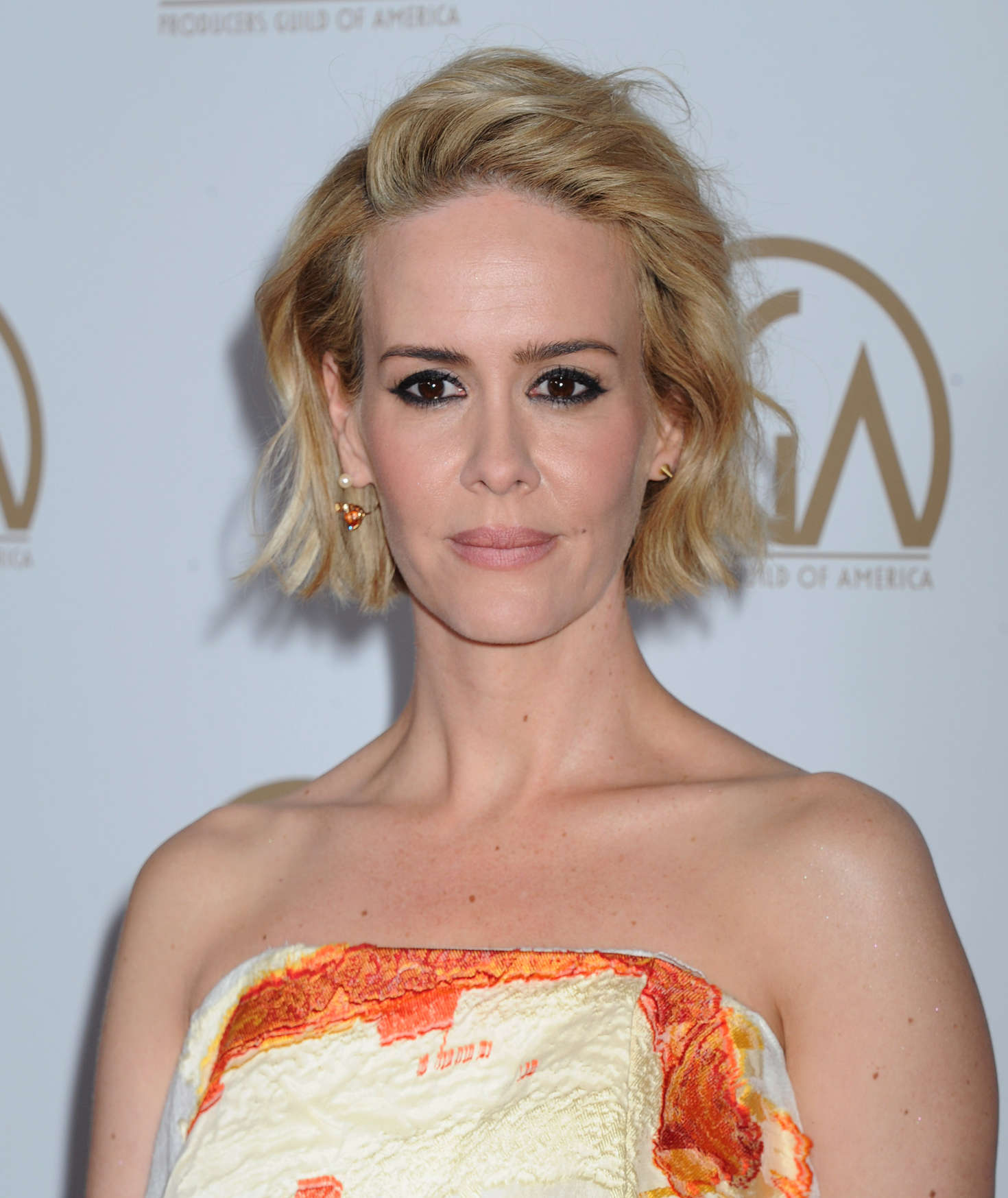 Sarah Paulson 2016 : Sarah Paulson: 2016 Producers Guild of America Awards -04