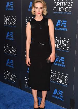 Sarah Paulson - 2015 Critics Choice Television Awards in Beverly Hills