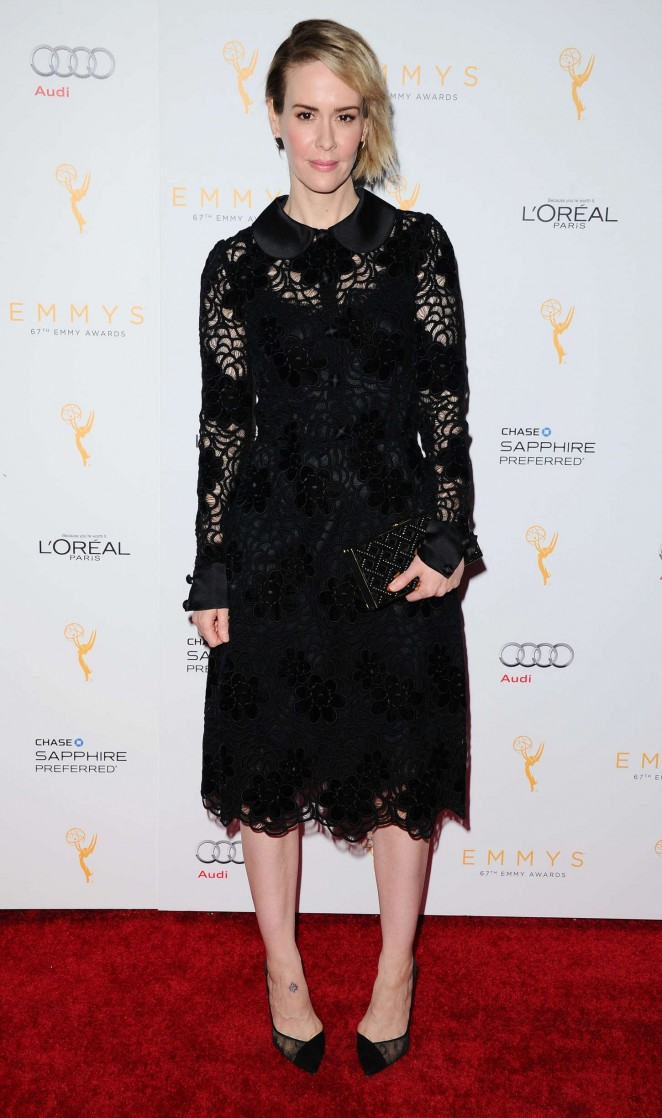 Sarah Paulson - 2015 Emmy Awards Performers Nominee in Beverly Hills