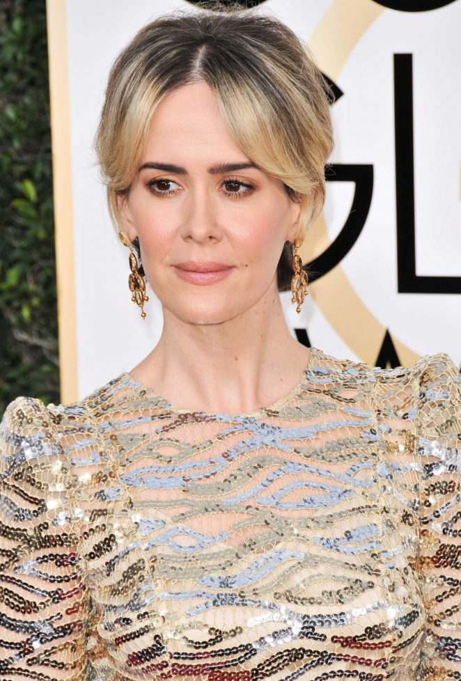 Sarah Paulson - 74th Annual Golden Globe Awards in Beverly Hills