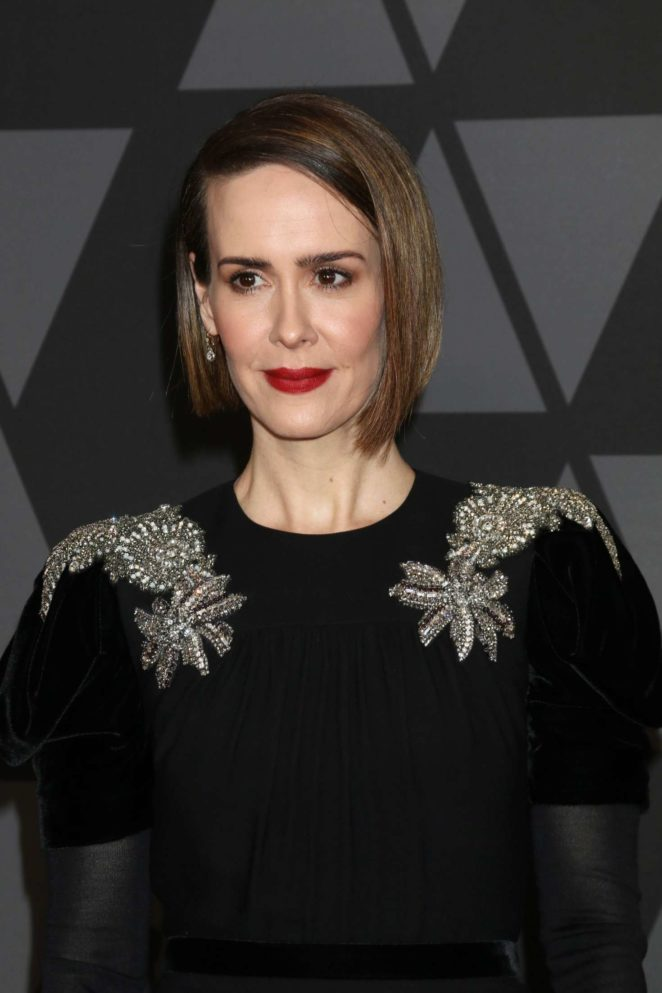 Sarah Paulson 2017 : Sarah Paulson: 9th Annual Governors Awards -08
