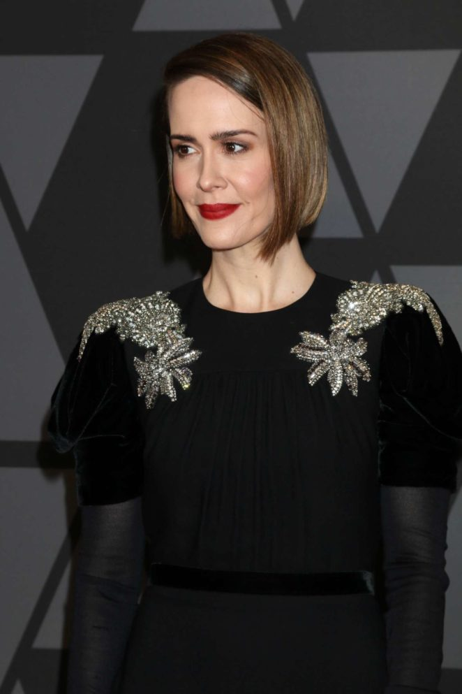 Sarah Paulson 2017 : Sarah Paulson: 9th Annual Governors Awards -12