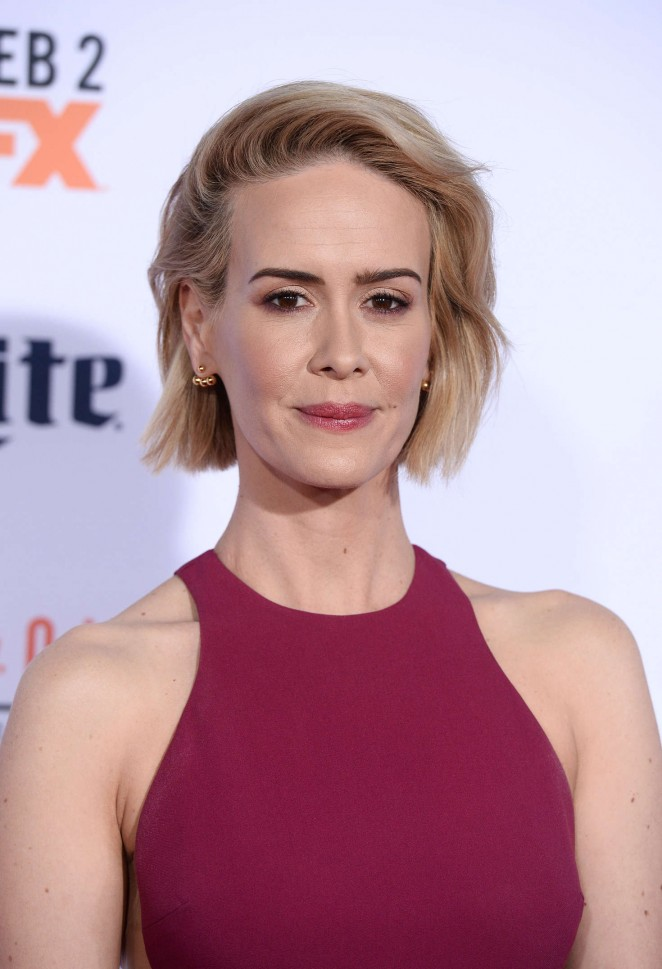 Sarah Paulson: American Crime Story The People v O J Simpson Premiere -02