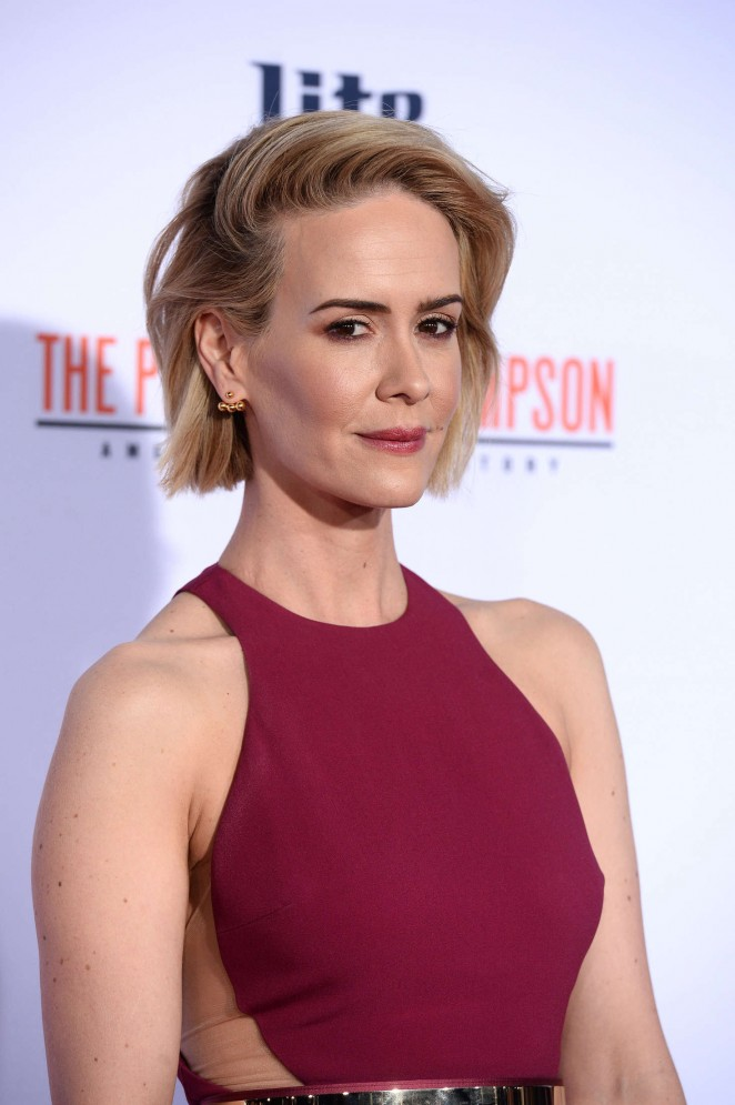 Sarah Paulson: American Crime Story The People v O J Simpson Premiere -06