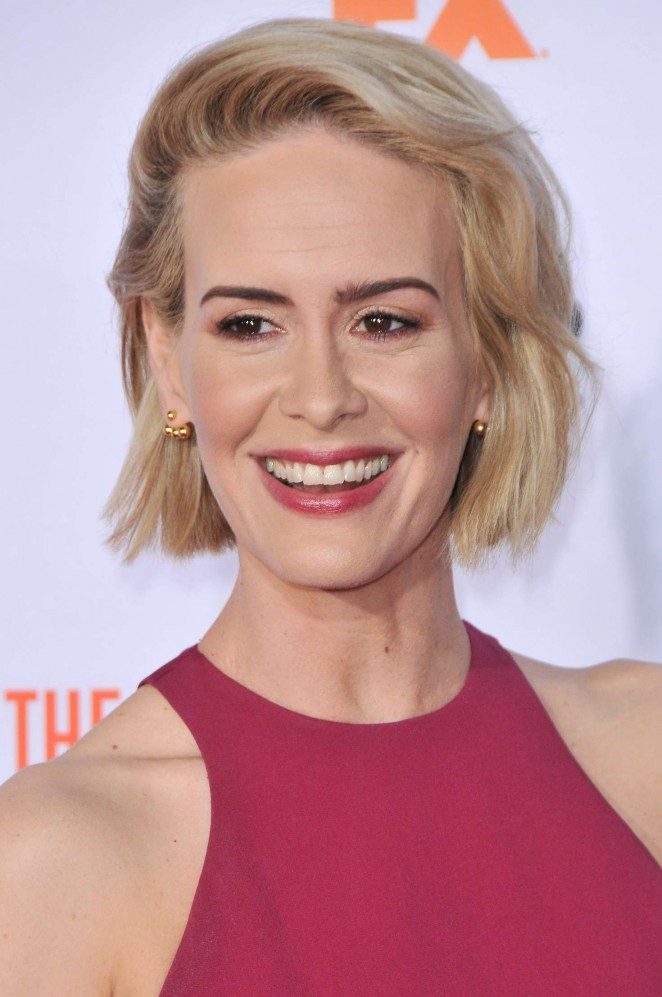 Sarah Paulson: American Crime Story The People v O J Simpson Premiere -11