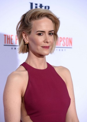 Sarah Paulson - 'American Crime Story: The People v.O.J. Simpson' Premiere in Westwood