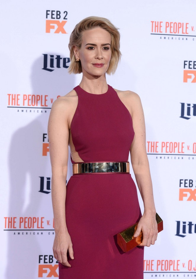 Sarah Paulson: American Crime Story The People v O J Simpson Premiere -14