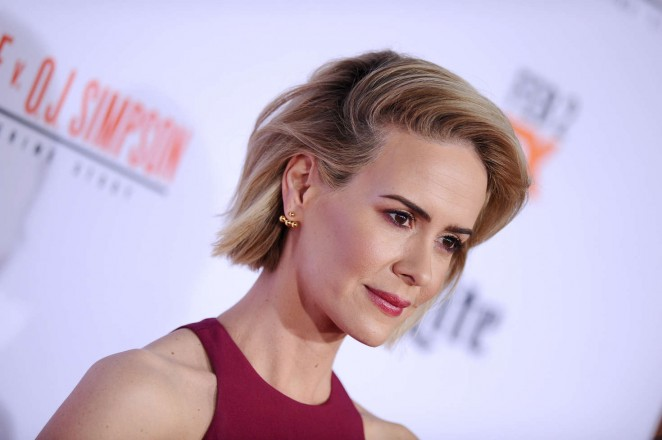 Sarah Paulson: American Crime Story The People v O J Simpson Premiere -18
