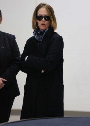Sarah Paulson - Arrives at LAX International Airport in Los Angeles