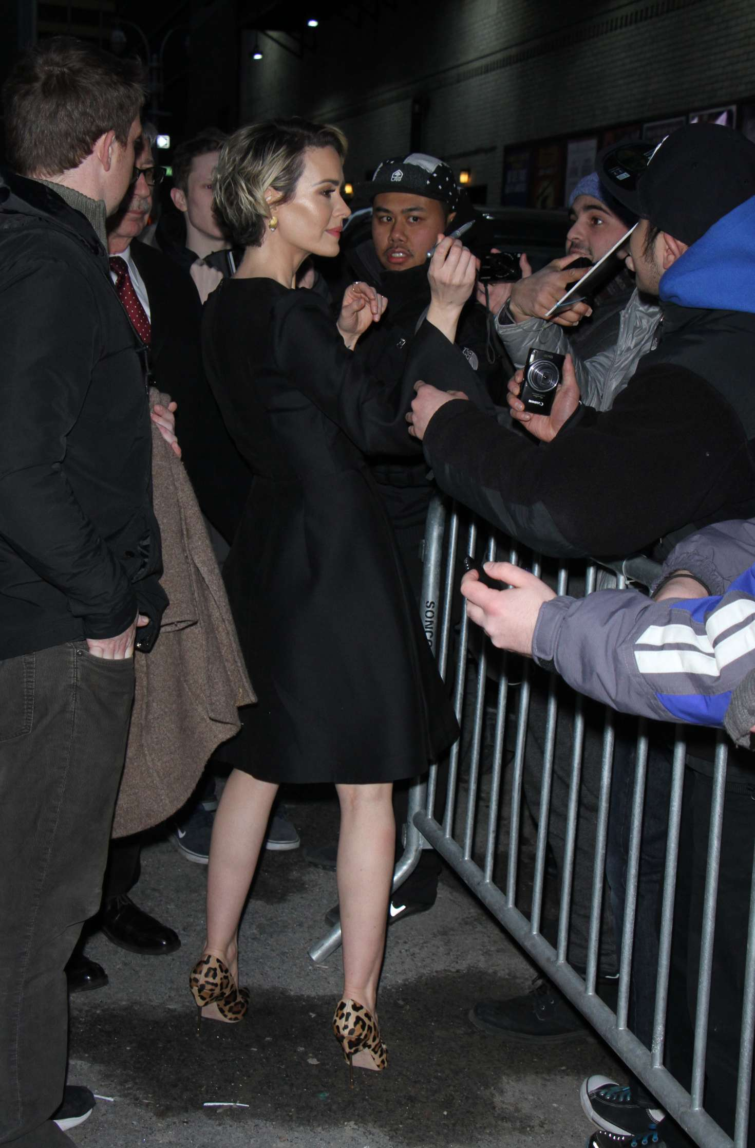 Sarah Paulson: Arrives to The Late Show With Stephen Colbert -12