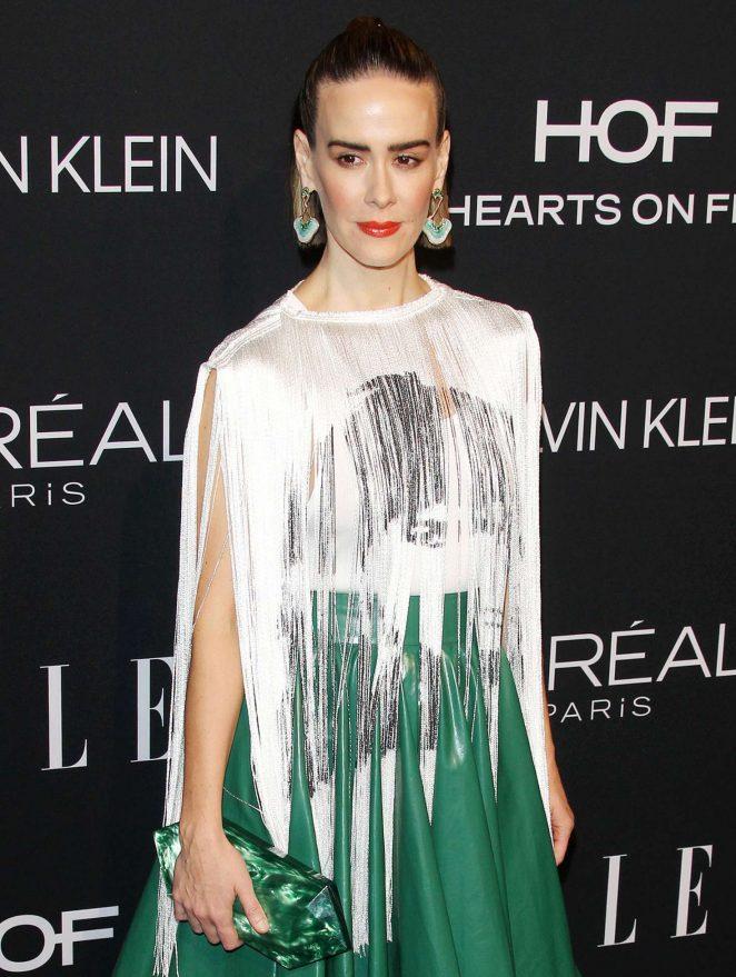Sarah Paulson – ELLE's 25th Women in Hollywood Celebration in LA