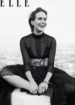 Sarah Paulson - Elle US The 'Women In Hollywood' (November 2018)