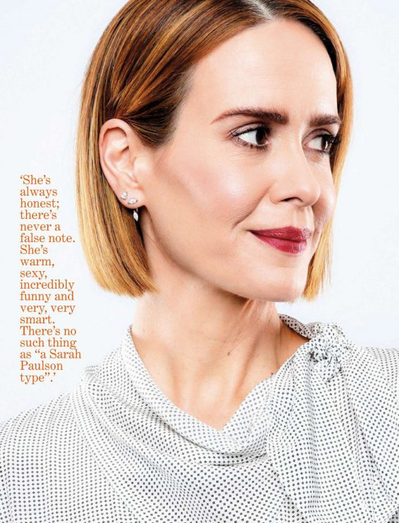 Sarah Paulson - Fairlady Magazine (August 2019)