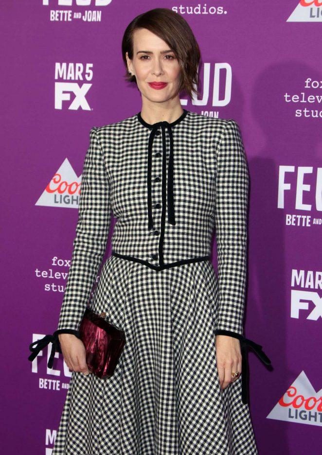 Sarah Paulson - 'Feud: Bette and Joan' TV Series Premiere in Los Angeles