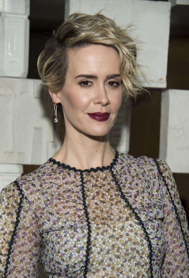 Sarah Paulson - Hammer Museum's 14th annual Gala In The Garden in Westwood