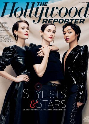 Sarah Paulson Karla Welch and Ruth Negga - The Hollywood Reporter (March 2017)