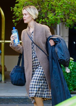 Sarah Paulson - Leaving the Four Seasons Hotel in Beverly Hills