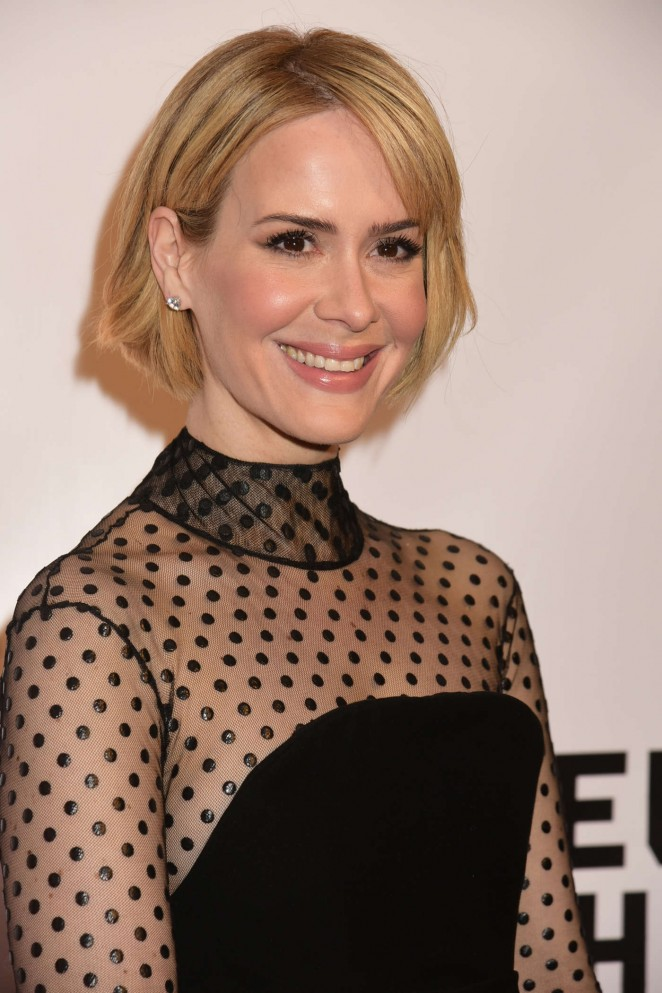 Sarah Paulson - Museum of The Moving Image honors Julianne Moore in NYC
