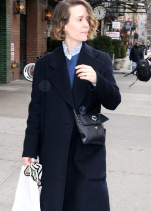 Sarah Paulson - Out and about in New York