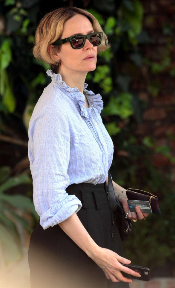 Sarah Paulson - Out and about in West Hollywood