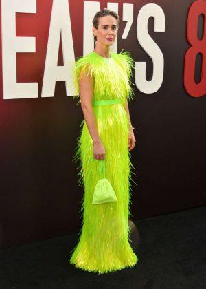 Sarah Paulson - Red carpet at Ocean's 8 Premiere In New York