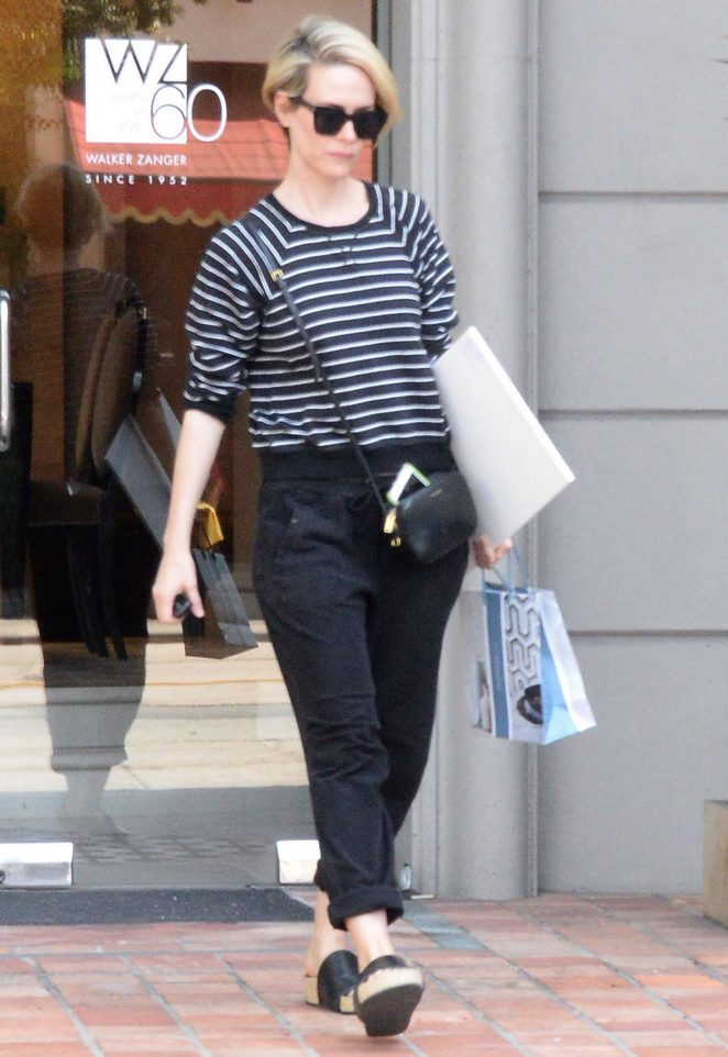 Sarah Paulson Shopping in West Hollywood