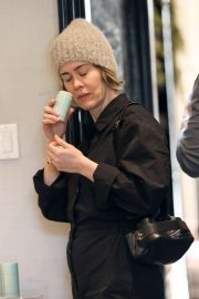Sarah Paulson - Shops for deodorant at Violet Grey in West Hollywood