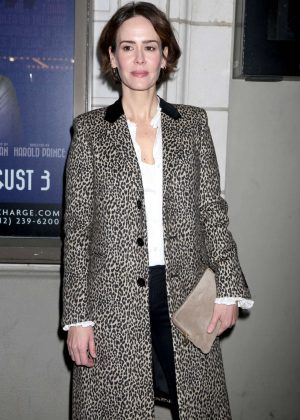 Sarah Paulson - 'The Little Foxes' Play Opening Night in New York