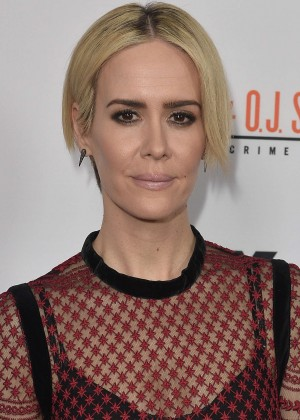 Sarah Paulson - 'The People v. OJ Simpson' Finale in Los Angeles