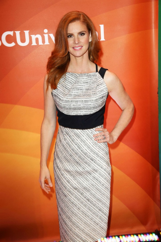 Sarah Rafferty - 2015 NBC New York Summer Press Day in NYC