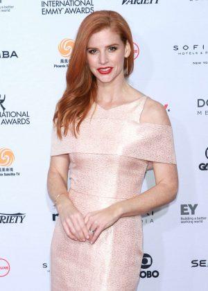 Sarah Rafferty - 44th International Emmy Awards in New York