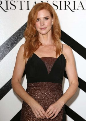Sarah Rafferty - Christian Siriano Fashion Show 2018 in NY