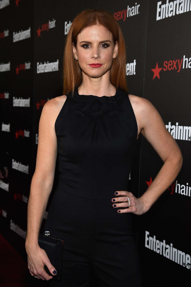 Sarah Rafferty - Entertainment Weekly's 2015 SAG Awards Nominees in LA