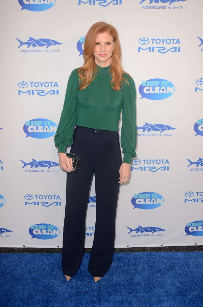 Sarah Rafferty – Keep It Clean Love Comedy Benefit for Waterkeepers Alliance in LA