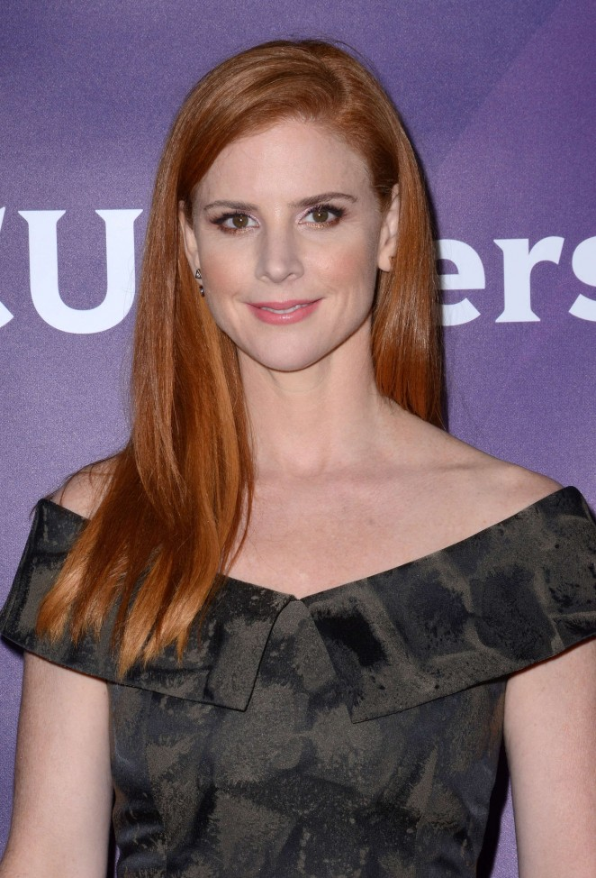 Sarah Rafferty - NBC Universal Winter Press Tour 2016 in Pasadena
