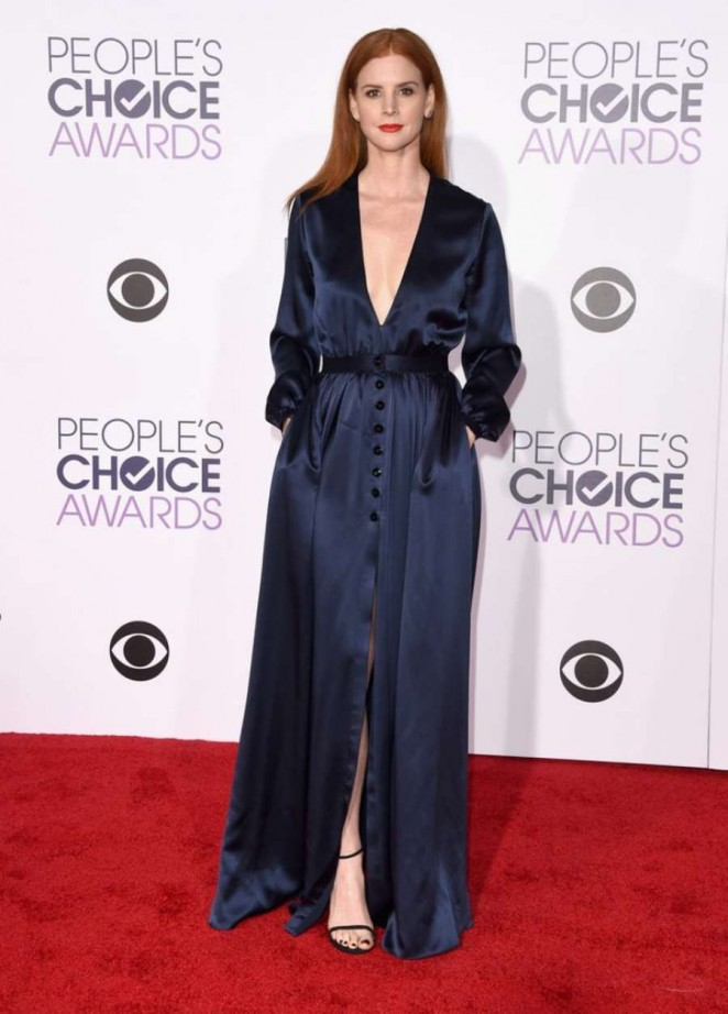 Sarah Rafferty - People's Choice Awards 2016 in Los Angeles