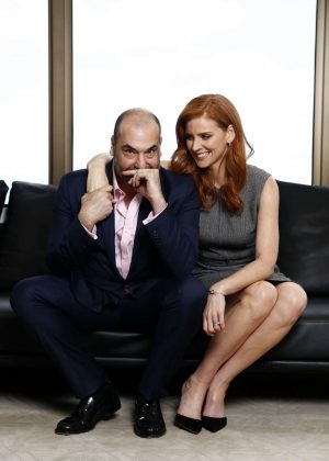 Sarah Rafferty - 'Suits' TV series photocall in Sydney