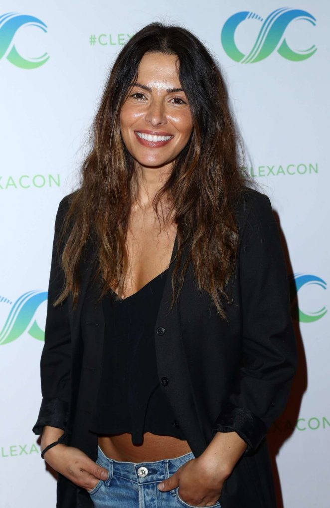Sarah Shahi - Day 2 of ClexaCon in Las Vegas