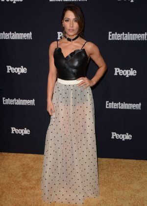 Sarah Shahi - Entertainment Weekly and People Magazine Upfront Party in New York