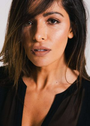 Sarah Shahi for Elle Magazine (September 2018)