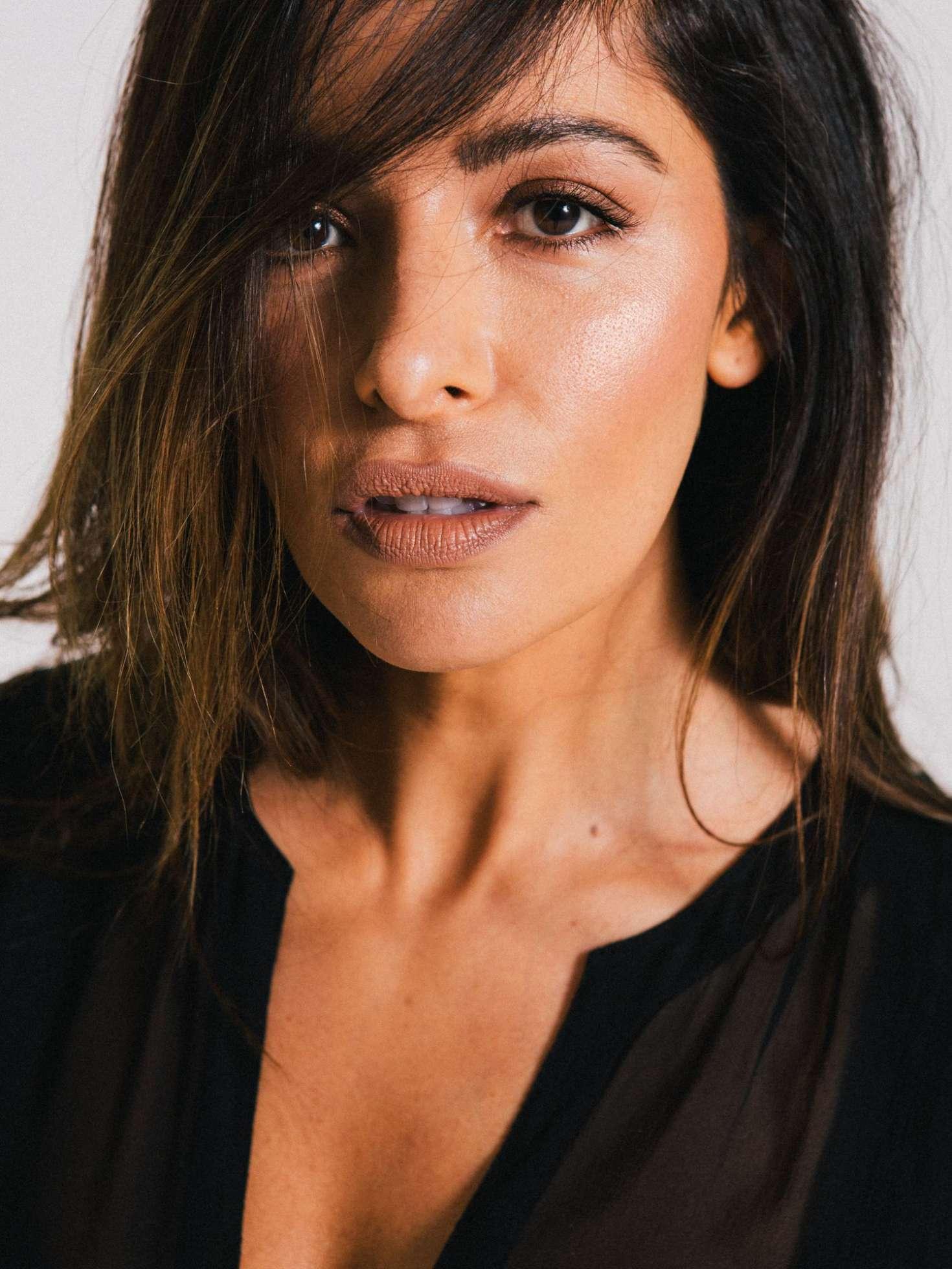 Sarah Shahi for Elle Magazine (September 2018)